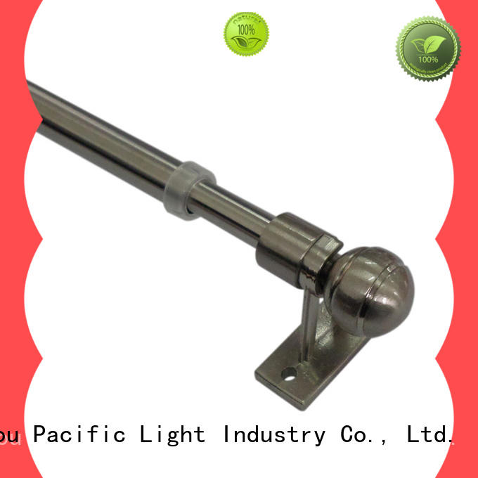 Pacific New small decorative curtain rods manufacturers