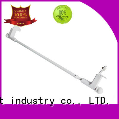 Pacific how to choose swing out curtain rods supplier