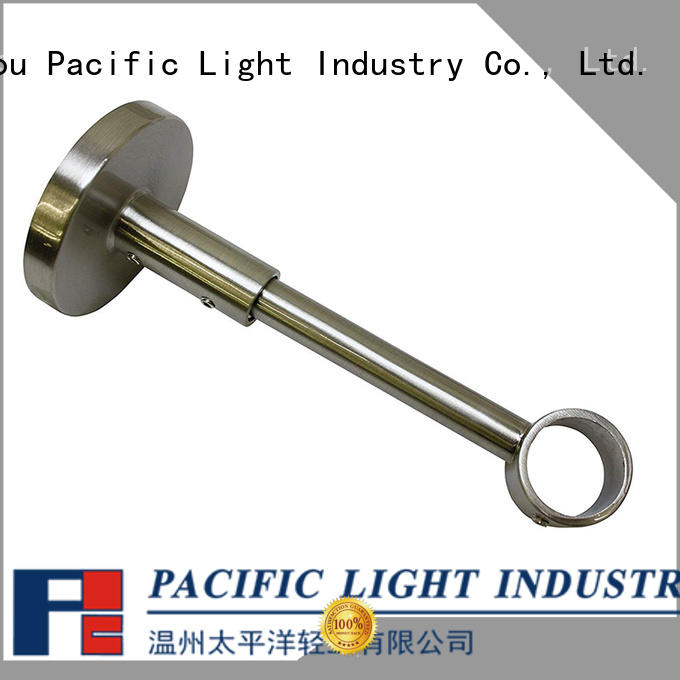 Pacific gold curtain rod brackets supply for corner