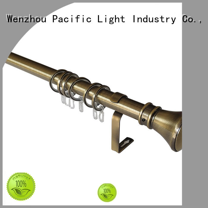 Pacific clearance curtain rods factory for sliding door