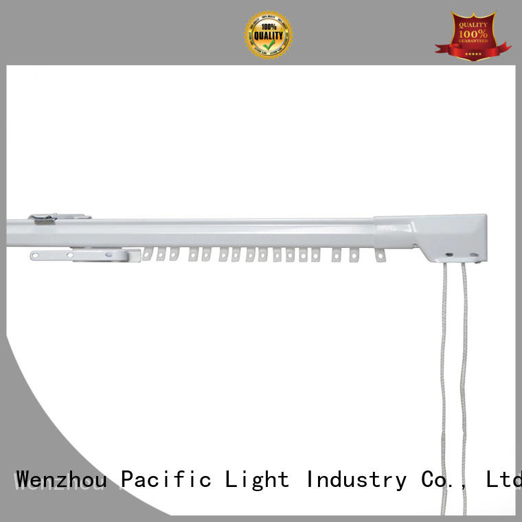 Pacific aluminium curtain track how to use for office