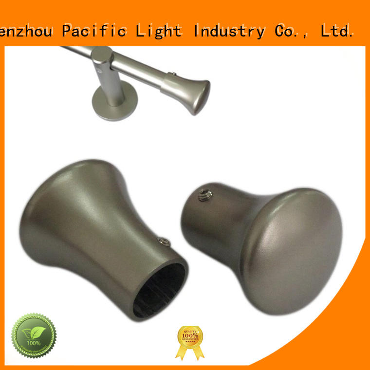 installation metal finials for curtain rods function for hotel
