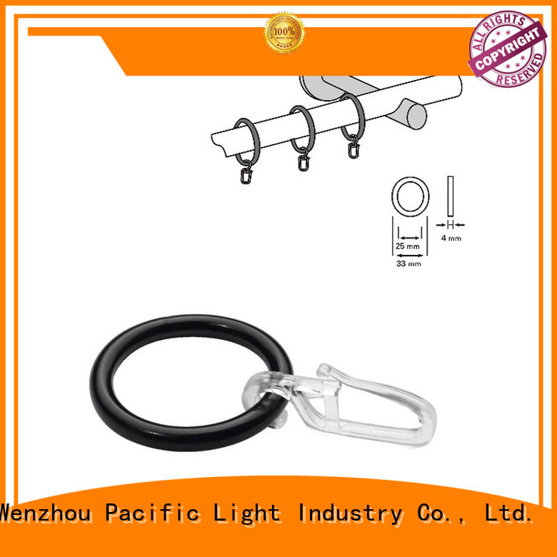 Best black curtain rings with clips suppliers for corner window