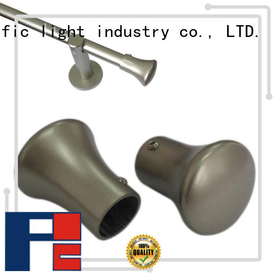 Pacific installation curtain pole ball ends details for house