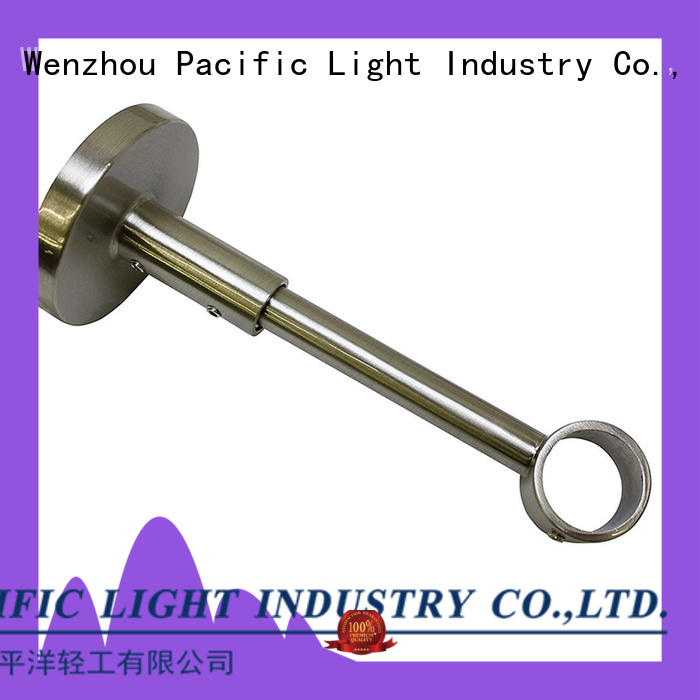 Pacific New short projection curtain pole brackets suppliers for sliding door