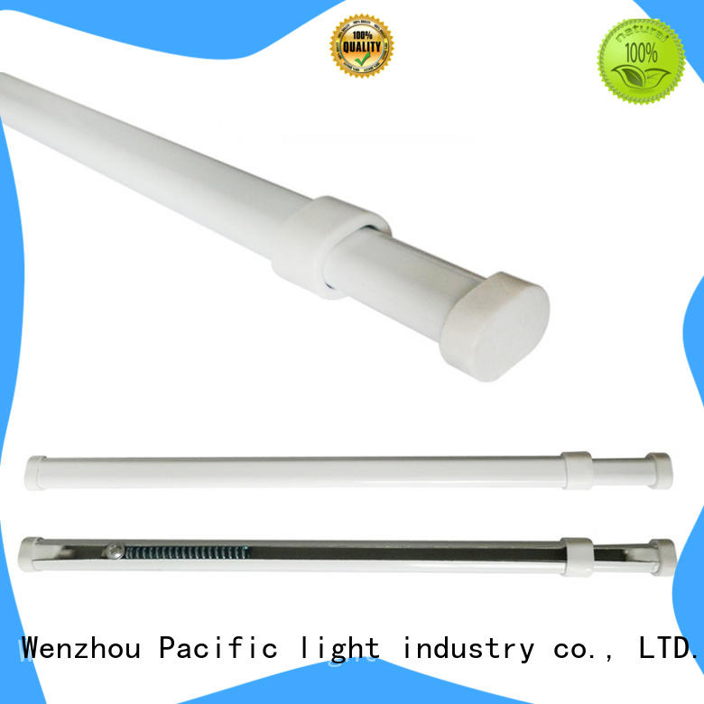 Pacific types of curtain rods supplier for arched window