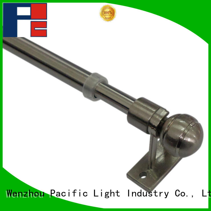 Pacific wooden curtain rod brackets factory for corner window